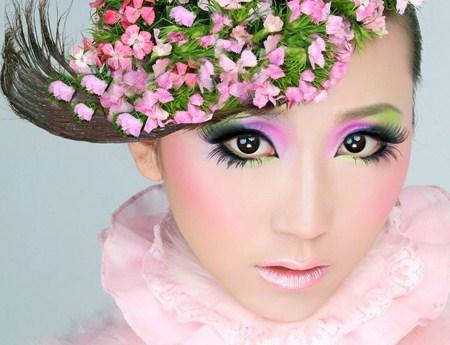 影楼特色造型设计;高清透亮新娘彩妆;流行时尚彩妆;特殊创意彩妆;高端图片